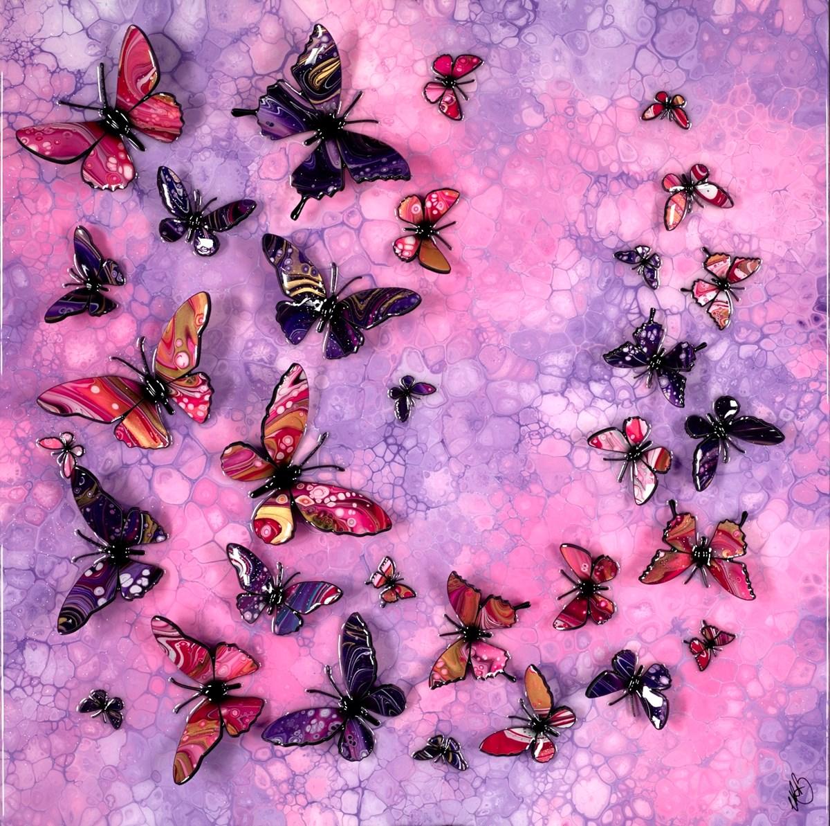 Fuchsia Flight I